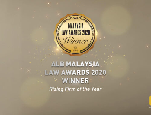 Ooi & Ooi wins Rising Firm of the Year in the Asian Legal Business Malaysia Law Awards 2020.