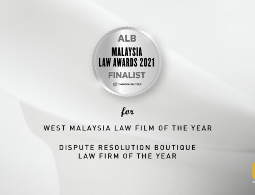 Ooi & Ooi received 2 nominations in the Asian Legal Business (ALB) Malaysia Law Awards 2021.